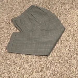 Talbots Plaid  Dress Slacks